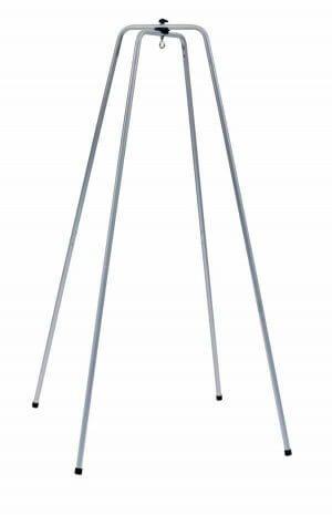 Sølvgrå stativ til fjedervugge og hængevugge Natures Sway Slyngevuggen