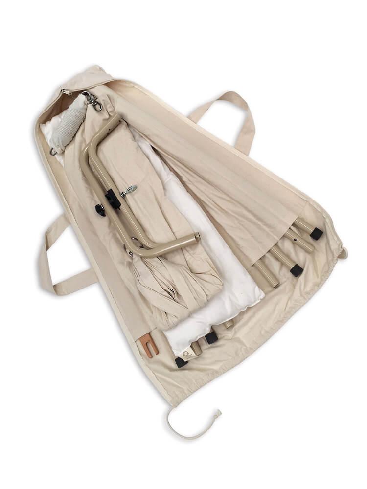 Stativtaske til Slyngevuggen | Perfekt kanalsyet taske til slyngevuggestativ