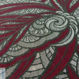 Didymos vikle Blattwerk Purpur Crimson Leaves blade Sneglehuset