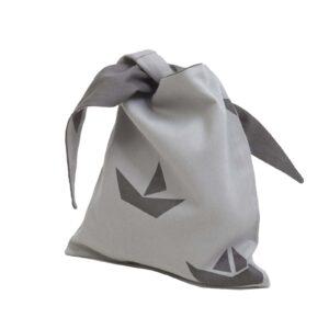Fabelab lunchbag ship grey Sneglehuset