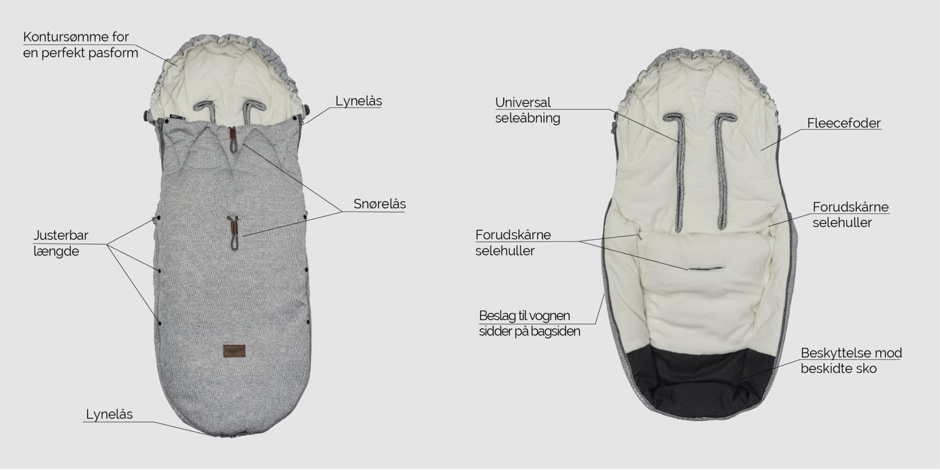 Najell Winter Cover kørepose